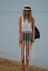 Lucie Redlich - Primark Top, H&M Shorts, Zara Backpack, H&M Hat - My top from Primark