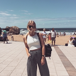 Anna Maradan - Zara Crop Top - Sea, Zen and Sun
