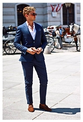 Darko Lukac - Tommy Hilfiger Suit, Gucci Loafers, Tommy Hilfiger Sunglasses - When in Rome