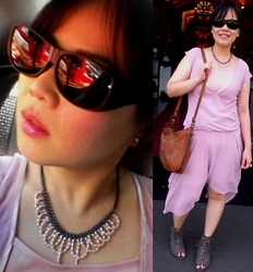 Teapot Potato - Daiso Japan Wear Over Glasses Shades, Payless Laced Heels, Pearl And Hematite Necklace - The Cullens's Wedding
