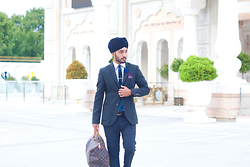 Pardeep Bahra -  - Ted Baker and Louis Vuitton
