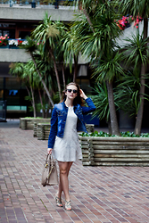 Kasia Brzozowska - Michael Kors Bag, H&M Dress, Primark Eyewear - City jungle