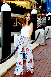Sydne Summer -  - Floral Pants
