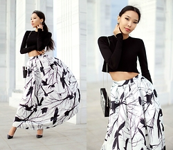 Aibina Yeshkeyeva - Chic Wish Skirt - BIRDS IN THE WIND