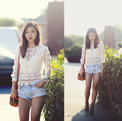 Tania H - Endless Rose Lace Blouse, One Teaspoon Bandits - Short story