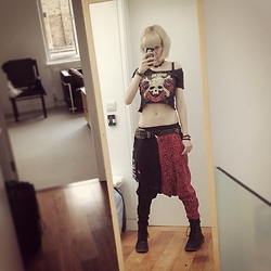 Fin ☆ - (Edited By Me) Vamps Tour Shirt, Super Lovers Harem Pants, Diavlo Belt - 070815