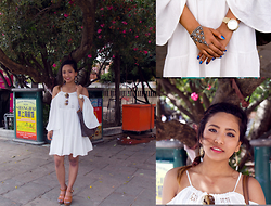 Suzi Shrestha - Asos Dress, Forever 21 Accessories - Venice-Gandola