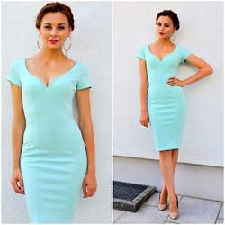 Anna Salov - Asos Dress - Mint