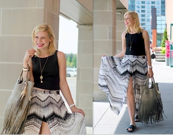 Liat Neuman - Club Monaco Skirt, Aldo Bag - Happy Summer