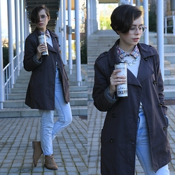 Jemma Richmond -  - Coffee and Trench Coats