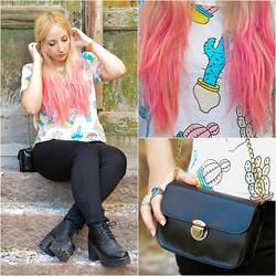 Valeria S. - Newdress Shirt, Newdress Bag, New Dress Chalks Hair Tool - Cactus