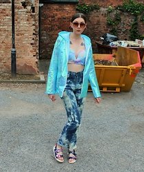 Nichola Rose - Pretty Little Thing Jacket, We Are Cow Jeans - PASTEL CLOUDS