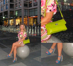 Agata - New Look Dress, Bebe Bag, Aldo Shoes - Chic night