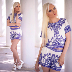 Oksana Orehhova - Cndirect Set (Top And Shorts), Cndirect Shoes - SOUL PATTERN