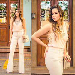 Luise Bosquê - A Colorida Top, A Colorida Flare Pants - Flare
