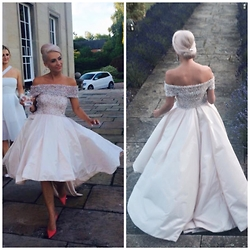 Amelia Tordoff -  - Wedding Look No. 2