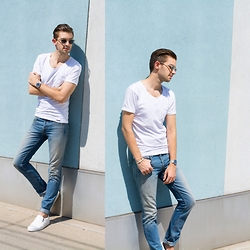 Aaron Wester - Son Of A Tailor Made To Measure T Shirt, Talley Nyc Denim - Customized