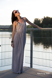 Eve G. - Vive Maria Leo Bikini, H&M Maxi Dress - Make it shine