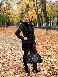 Agata - Mango Jacket, Mango Bag, Massimo Dutti Shoes - Autumn