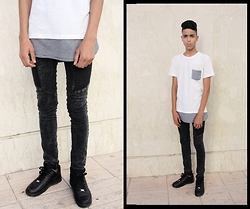 Hamza Mokadam - Pull & Bear, Guylook‬, Airforce‬ - Winning combo