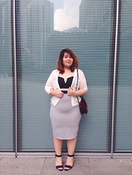 Melissa Karim - New Look Blouse, Topshop Top, Topshop Midi Skirt, Cotton On Shoes, Bag - Everlasting