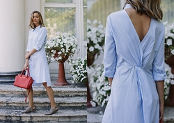 Dasha Shcerbakova - Newdress.Com Dress, Michael Kors Bag, Asos Shoes - My Summer
