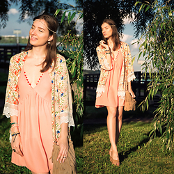 Natasha Karpova - New Dress Kimono, New Dress, New Dress Bag, Tremp Sandals - SOLAR ENERGY