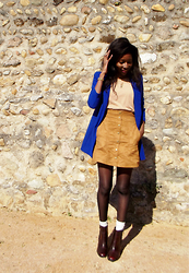 Eli' K - H&M Buttoned Skirt - Fall ready