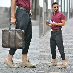 JAI GIDWANI - Louis Vuitton, Louis Vuitton, Asos - CROP DROP