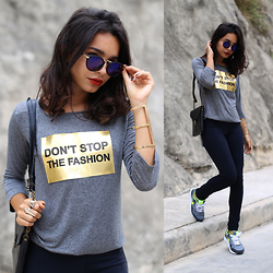 Alana Ruas - Caiz Store Shirt - Don't Stop The Fashion