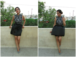 Pooja Mittal - Little Black Dress - Fancy Little Black Dress-Party Outfit