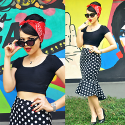 Clara Campelo - Sheinside Skirt, Chilli Beans Usa Watch - A Chilli Touch