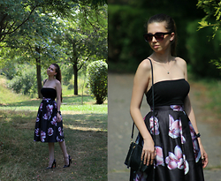 Ramona Crisstea - Sheinside Skirt, Zara Shoes, H&M Bag - Simple way