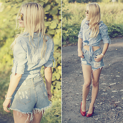 Charmeuse - Sheinside Shirt - Jeans please
