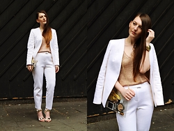 Magdalena W -  - All Suited Up (LCM SS15 Day2)