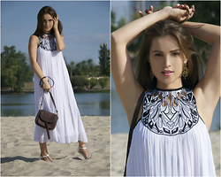 Yulia Proskurina - Sheinside Dress, Sheinside Bag, Sheinside Earings - The last day of summer. But not in heart:)