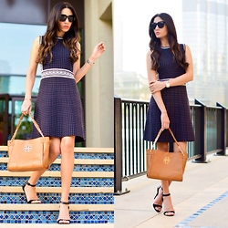 Wafaa Hassan -  - Tory Burch Total Look