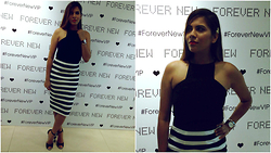 Pooja Mittal -  - Dress Chic-Pencil Skirt Halter Top