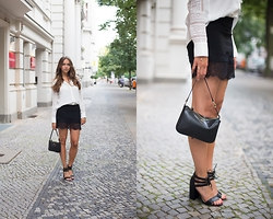 Jana Couture - H&M Blouse, New Look Sandals - Farewell Dinner