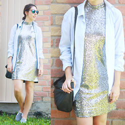 Lauriane -  - Sequins and menswear