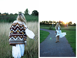 Daniella Robins -  - Style Stament: The Patterned & Fringed Knit