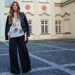 Sylwia Gocajna - Cubus Jacket, Vintage Top, New Yorker Pants - I'd Be Your Shining Star