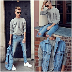 Jacob Żelechowski - H&M Denim Jeans, Adidas Superstar - What Do You Mean