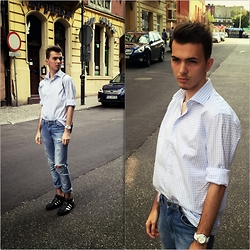 Mateusz K. - James Button Shirt, Pull & Bear Pants, Adidas Shoes - I'm Back