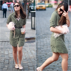 Areta Chen -  - #NYFW: The Olive Trench Dress