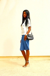 ASSITAN T. -  - Denim culottes