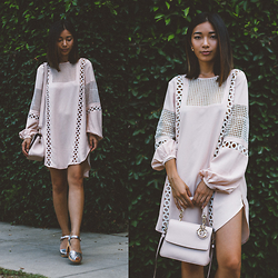 Stephanie Liu - Pixie Market Dress, Christian Dior Bag - Ladylike Boho