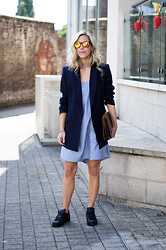 Daniella Robins - Reiss Blazer - Navy & Navy + When People Ruin a Good Thing!