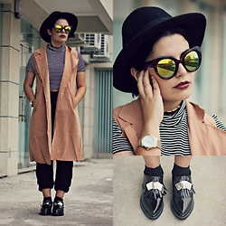 Zazu's World - Wholesale Buying Sunglasses, Coat - Autumn basics