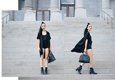 Gabriela L - Hip Wa Zee Shorts, Steve Madden Boots, Zara Bag - The Self- Love Revolution